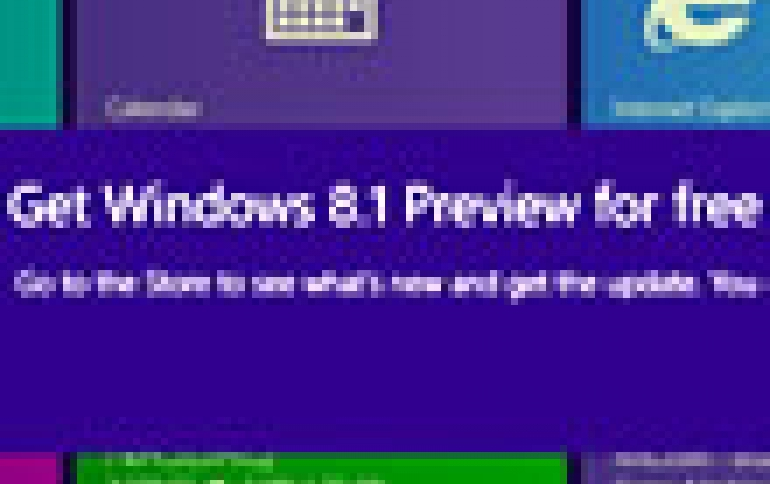 The Windows 8.1 Preview Now Available