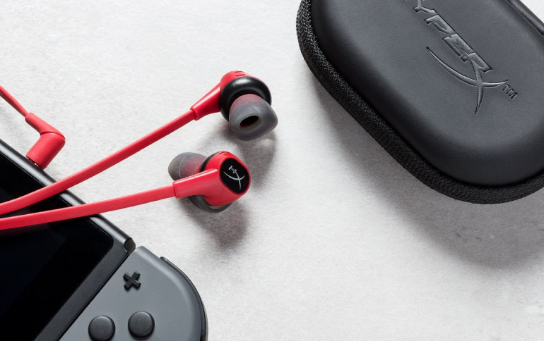 HyperX Releases New Cloud Earbuds Gaming Headphones with Microphone