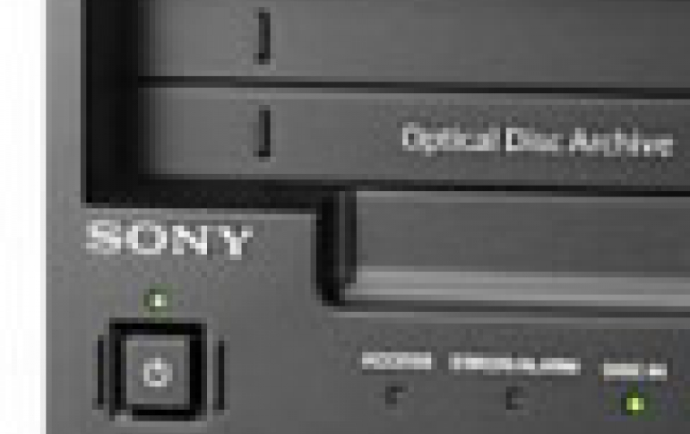 Sony to Acquire Optical Archive As It Enters The Data Center Storage Market