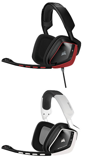 New Corsair VOID Surround Headsets Bring Advanced Gaming Audio to PC