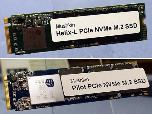 CES: Mushkin Showcases Triactor 3DX, 3DL, Helix-L and Pilot