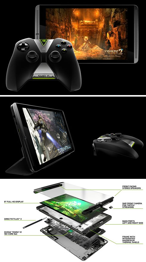 NVIDIA Launches Shield Tablet For Gamers - Printer Friendly