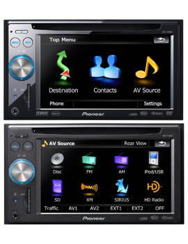 pioneer introduces its first in dash flash memory based car