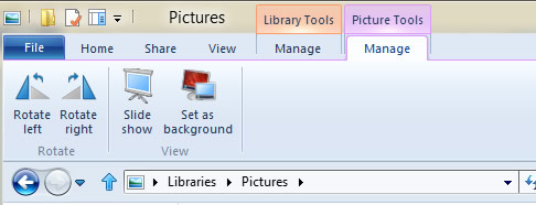 Figure 17 - Picture Tools context tab